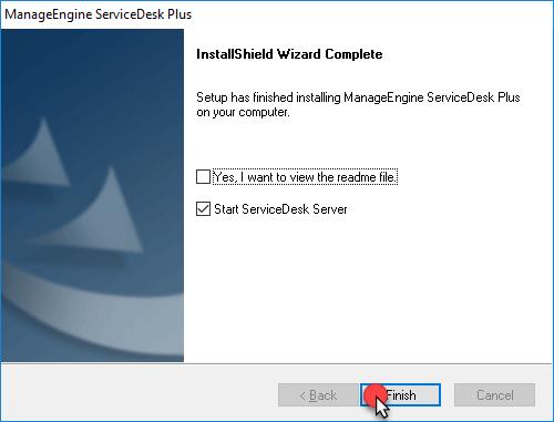 install ServiceDesk