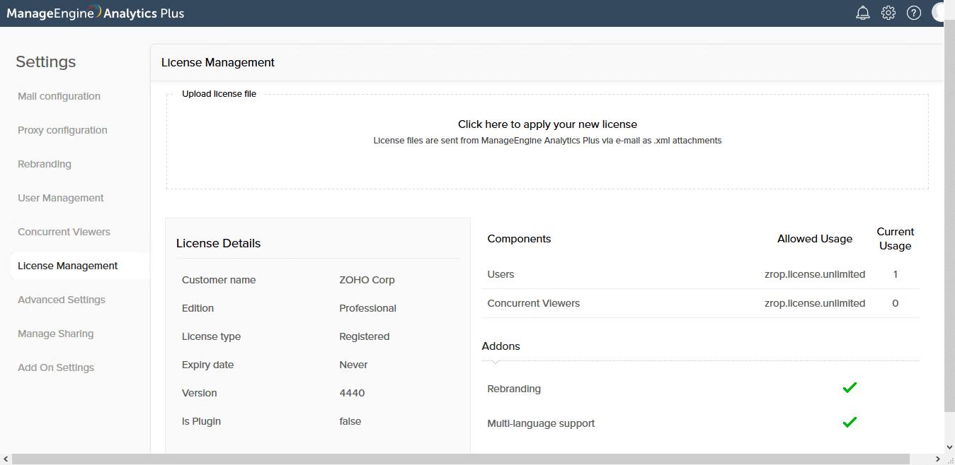نرم افزار Advanced Analytics Plus